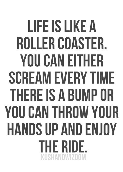 Best Inspirational Positive Quotes :enjoy your ride #quote ...