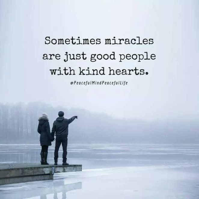 Inspirational Positive Quotes :Sometimes miracles are just
