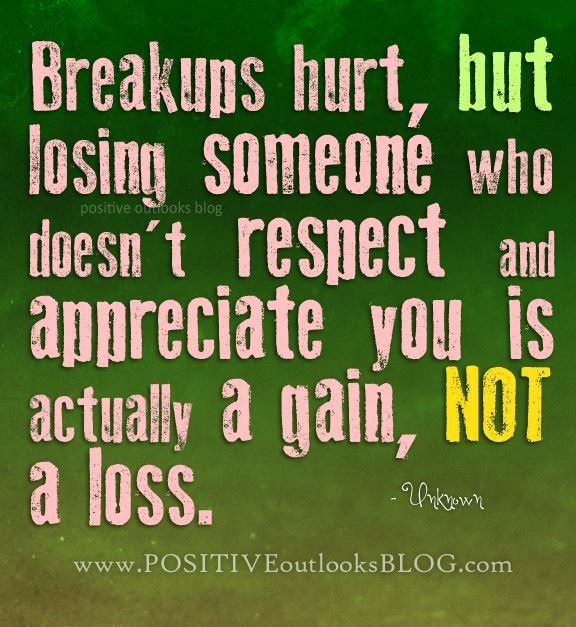 Breaking Up And Moving On Quotes :Everybody goes through a ...