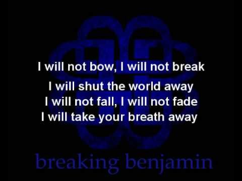 Breaking Up And Moving On Quotes :Breaking Benjamin - I Will ...