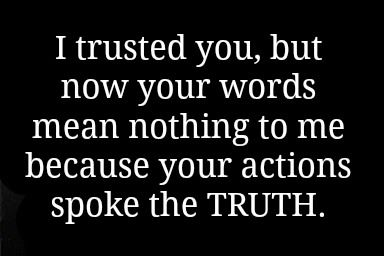 Breaking Up And Moving On Quotes :I trusted you, but now ...