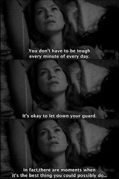 Sad And Depressing Quotes :greys anatomy quotes ...
