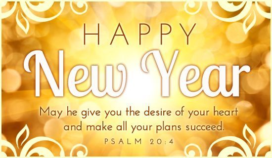 Happy New Year 2018 Quotes :New Year Relegious Wishes From Bible ...