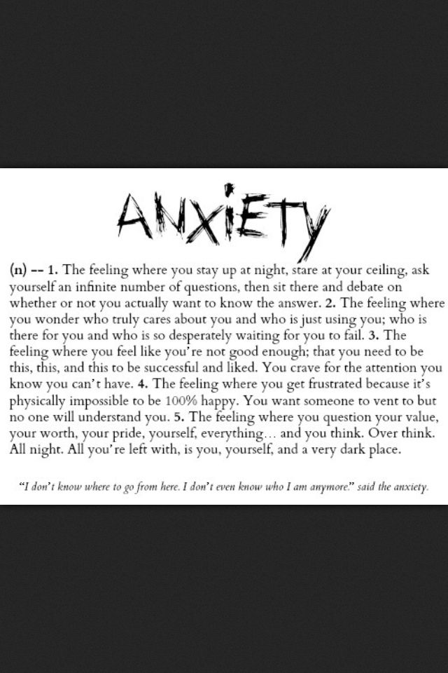 Sad And Depressing Quotes Anxiety Your Number One Source For Daily Quotes