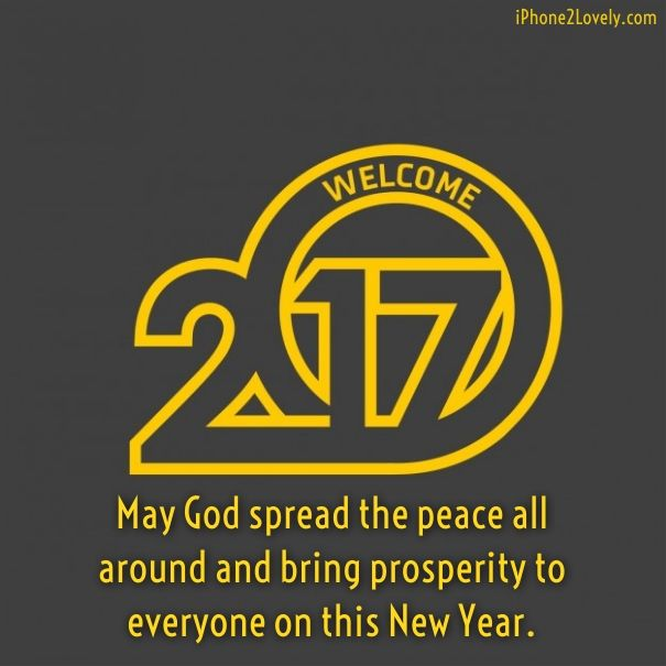 description best new year greetings 2017
