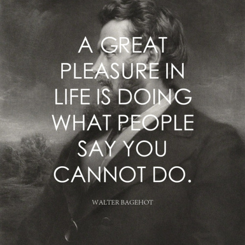 life quote a great pleasure in life misdoing what people say you