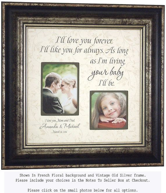 Wedding Quotes :Personalized Picture Frame for Mother of the Bride ...