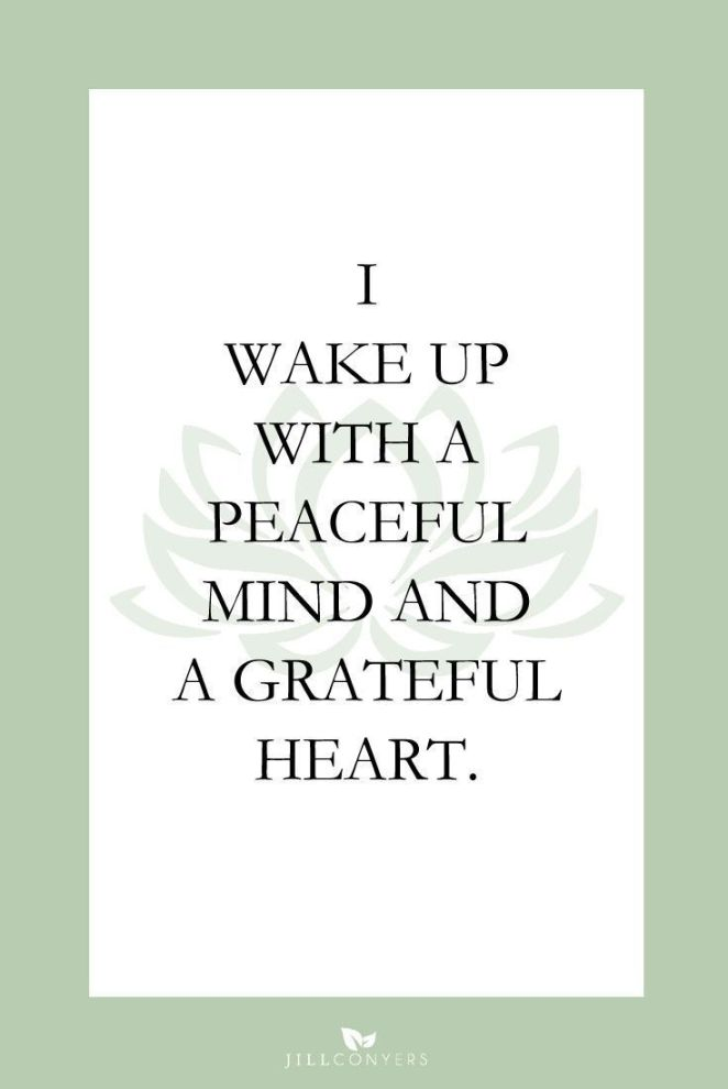 25 Affirmations To Start Your Day In a Positive Way www ...