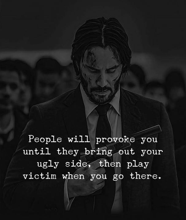 Inspirational Positive Quotes :People will provoke you until ...