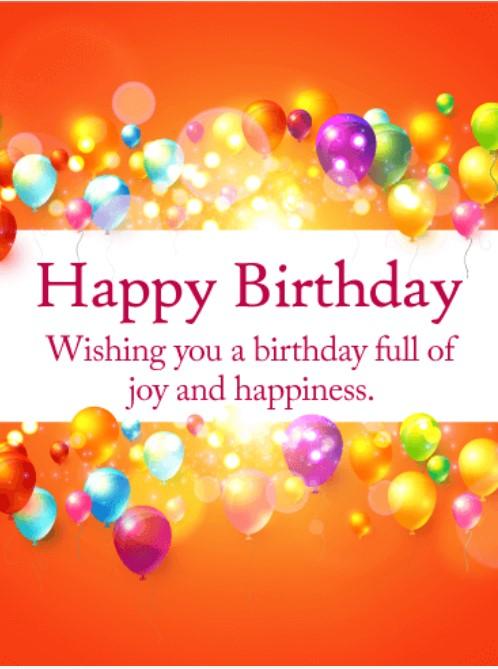 50 best happy birthday