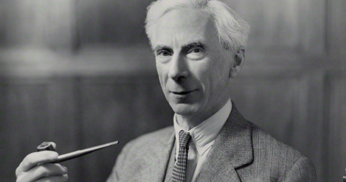 That Time Smoking Saved Bertrand Russell's Life (VIDEO)