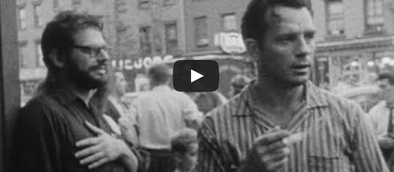 Ginsberg Kerouac video New York