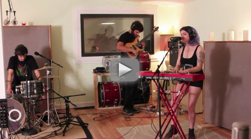Roz and the Rice Cakes studio session