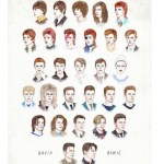 50 Years of David Bowie Hairstyles in a Single GIF