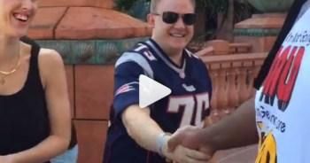 Vince Wilfork surprises fan
