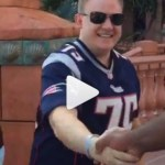 Vince Wilfork Surprises Patriots Fan Who Doesn't Recognize Him, Despite Wearing His Jersey (Video)