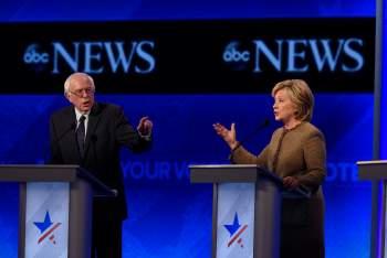 hillary clinton ducking debate sanders