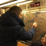 When New Yorkers saw swastikas in a subway car, they got to work