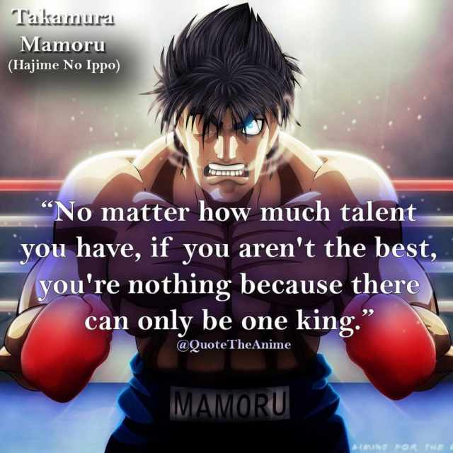 12 Motivational Hajime No Ippo Quotes With Images Quotetheanime