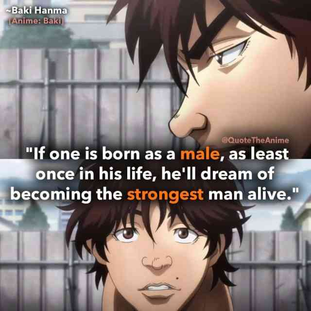11+ CRAZY Baki Quotes (New 2019) with HQ Images | QTA