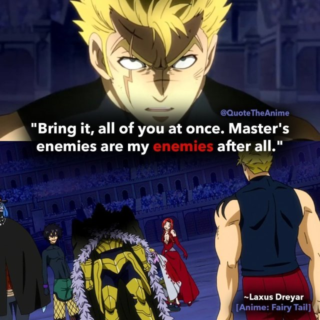 laxus-quotes-fairy-tail-quotes-masters enemies are my enemies after all