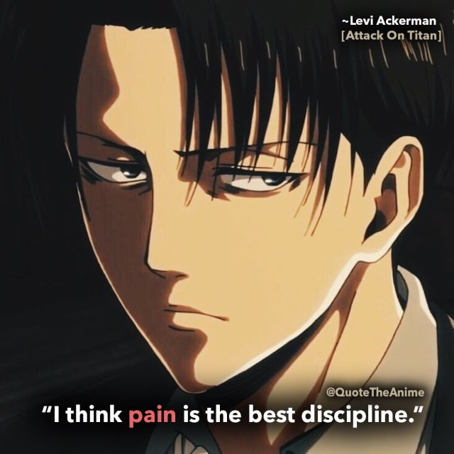 11 Powerful Levi Ackerman Quotes Aot Hq Images