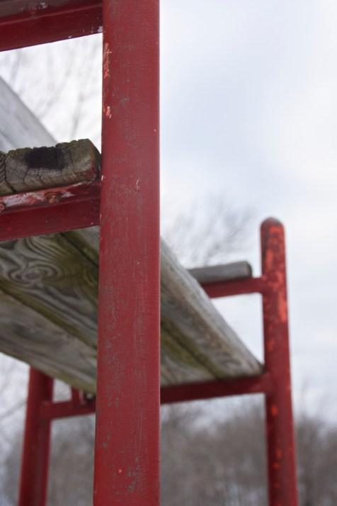 Lifeguard bench