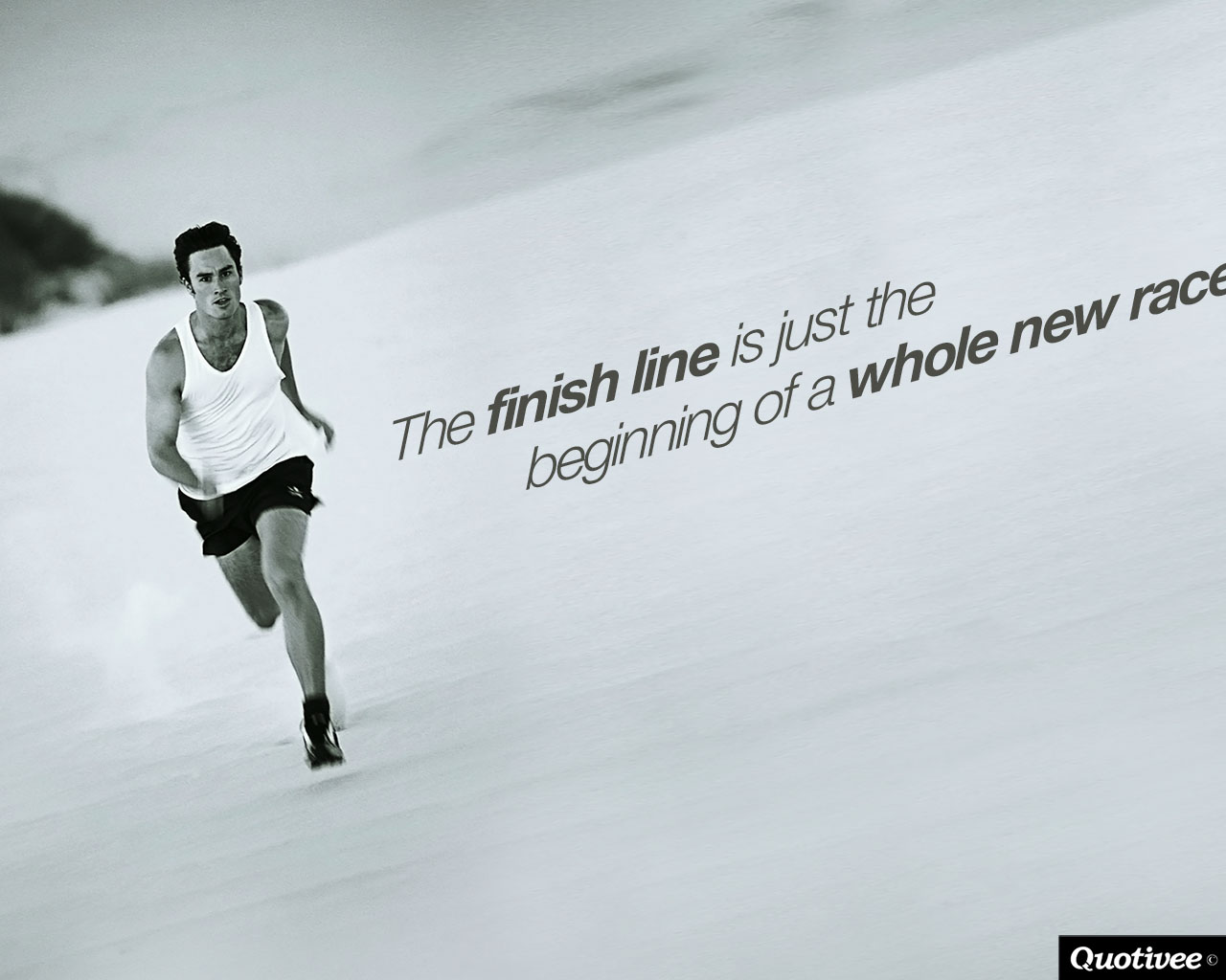 Passion Wallpaper Quote The Finish Line Inspirational Quotes Quotivee