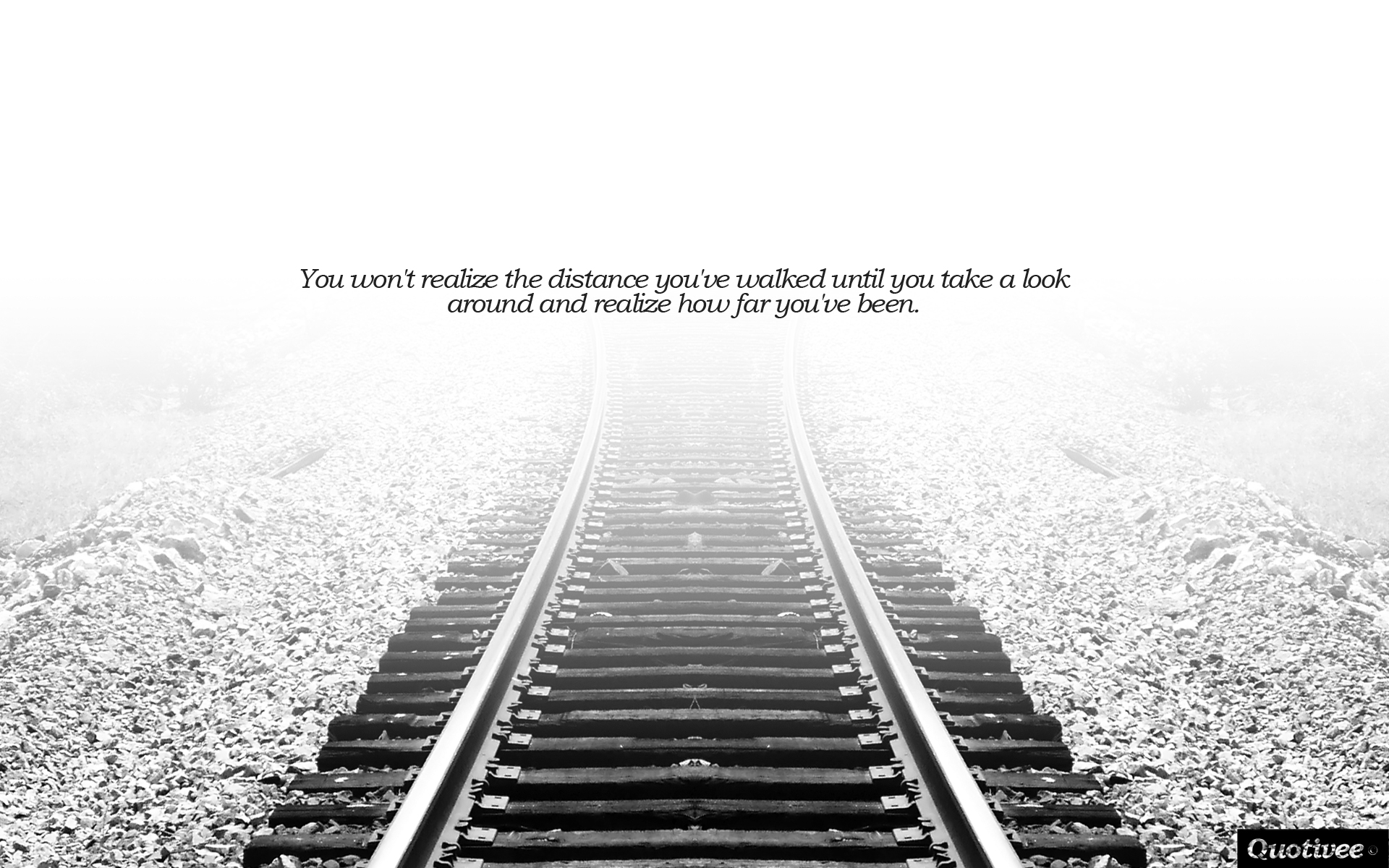 Business Inspirational Quotes Wallpaper Download The Distance You Ve Walked Inspirational Quotes Quotivee