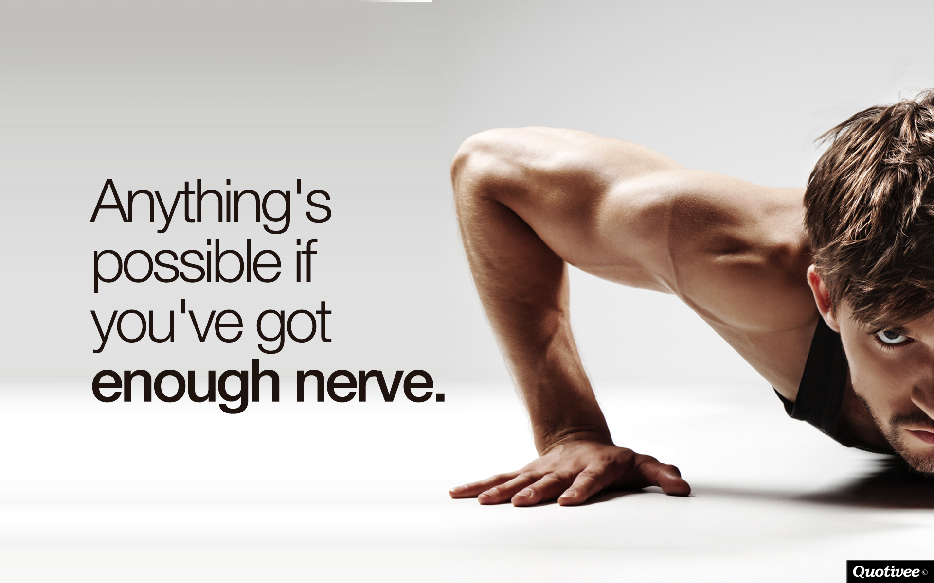 Willpower Quotes Wallpaper Anything S Possible Inspirational Quotes Quotivee