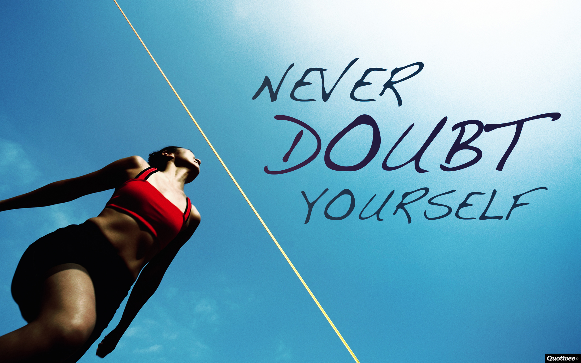 Wallpaper Fitness Quotes Never Doubt Yourself Inspirational Quotes Quotivee