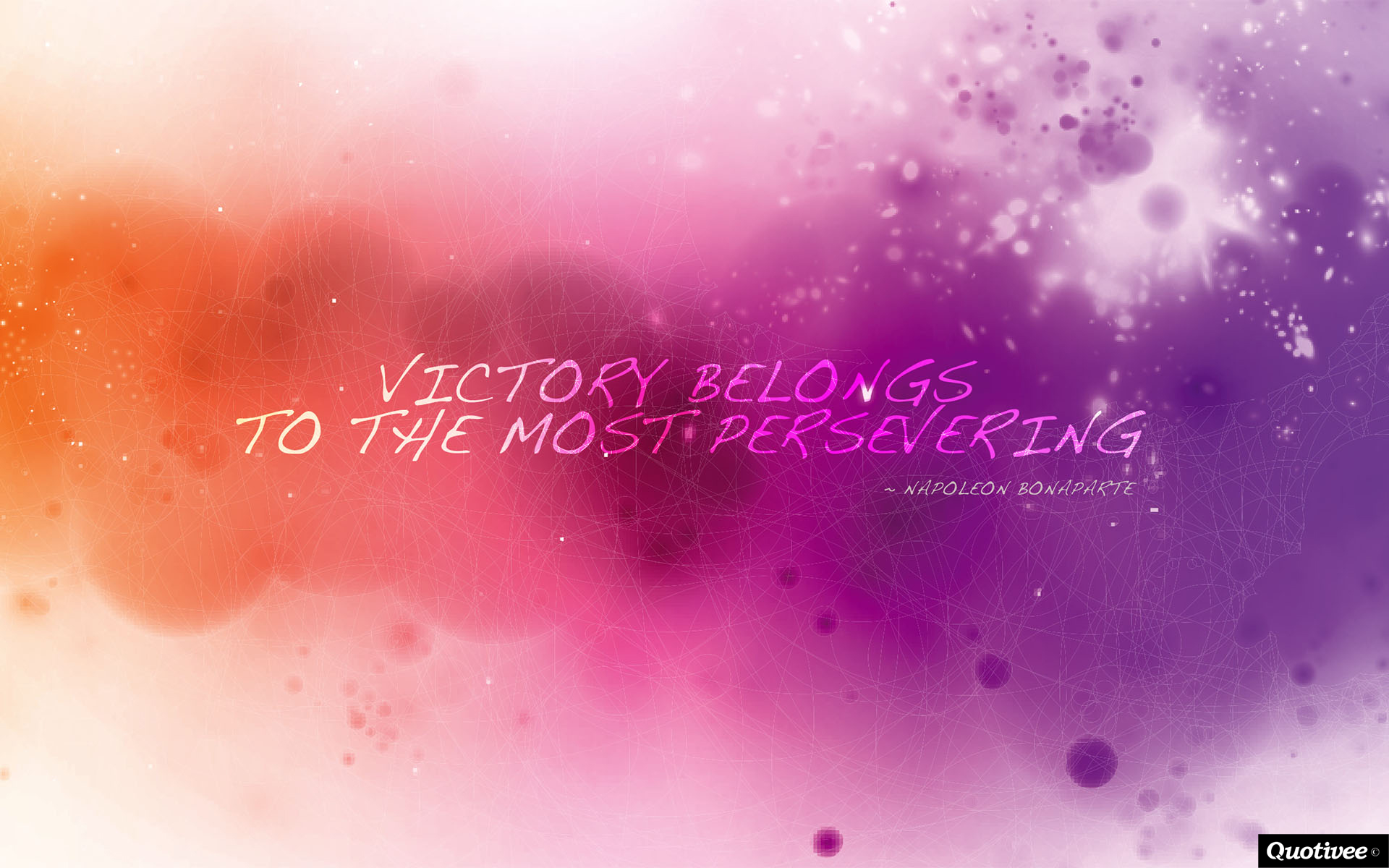 Motivational Quotes Wallpaper For Mobile Victory Belongs To The Most Persevering Inspirational