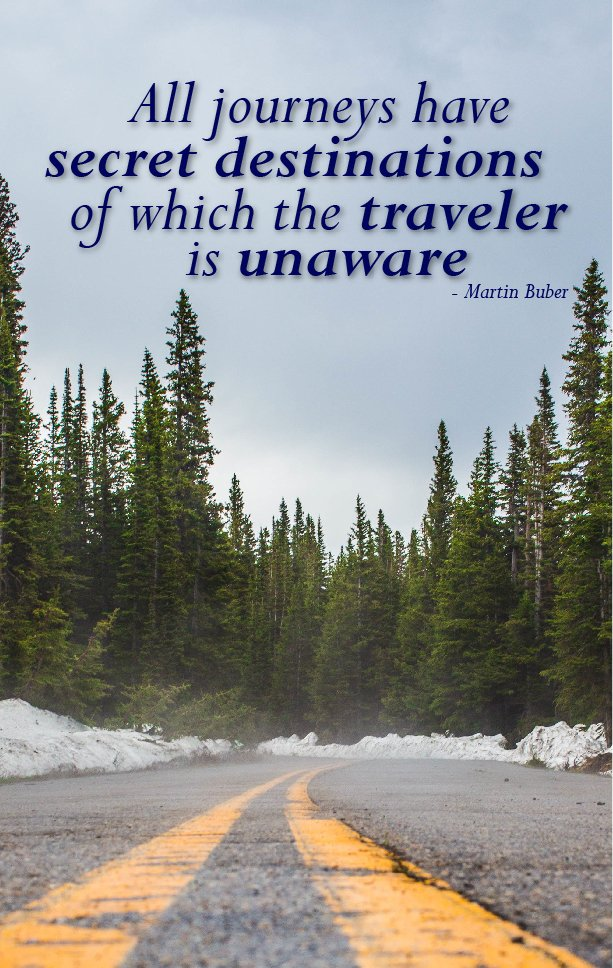 Stunning Journey Image Quote By Martin Buber