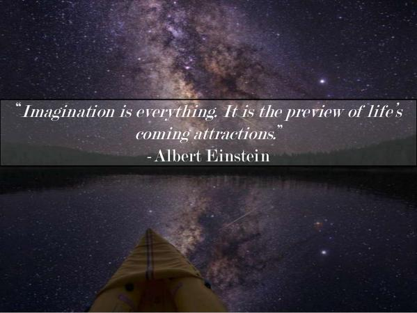 Imagination Is Everything It Is The Preview Of Li