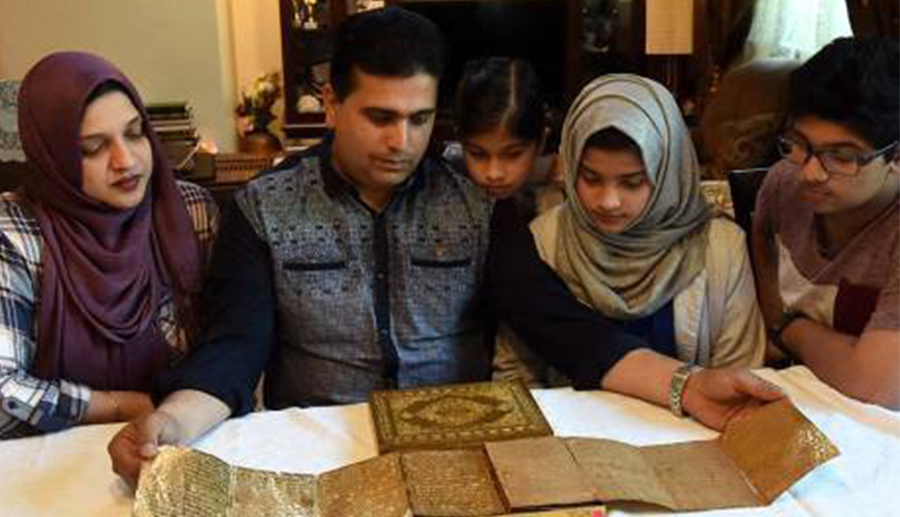 500 летний золотой Коран украсит рамаданские будни индийской семьи