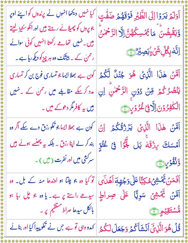 Read SurahAl-Mulk Online