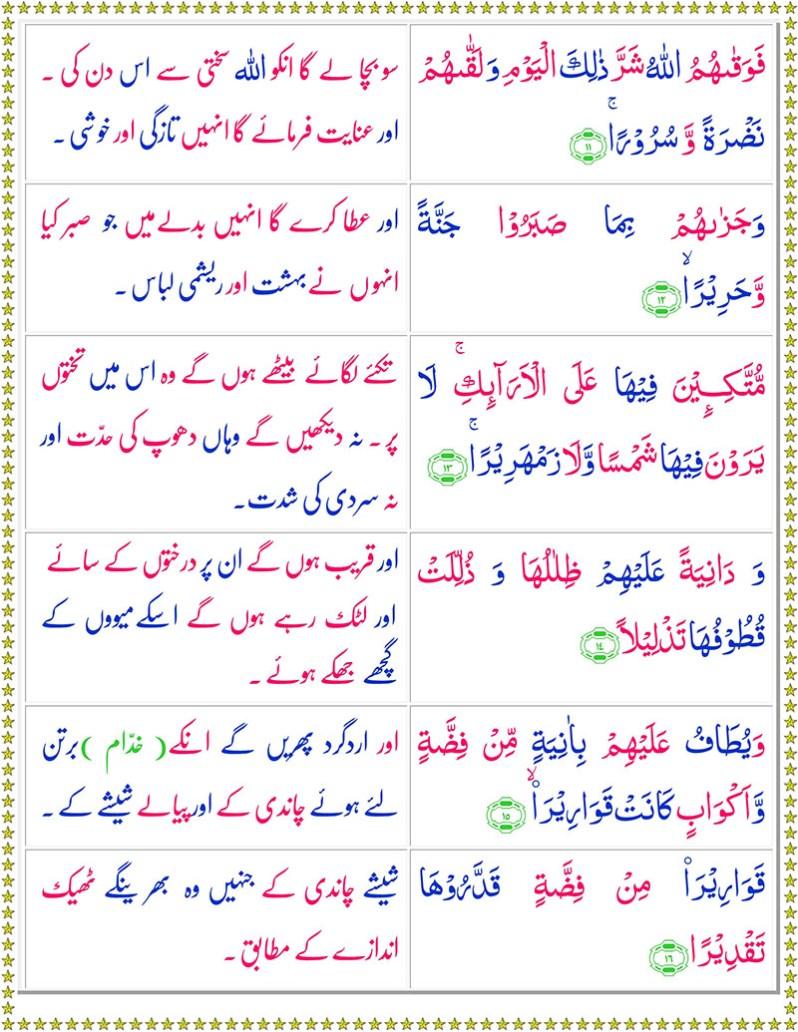 Read Surah Ad-Dahr Online