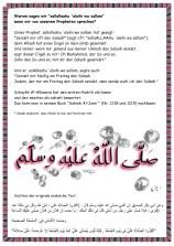 "Warum sagen wir ""sallallaahu 'alaihi wa sallam""?"