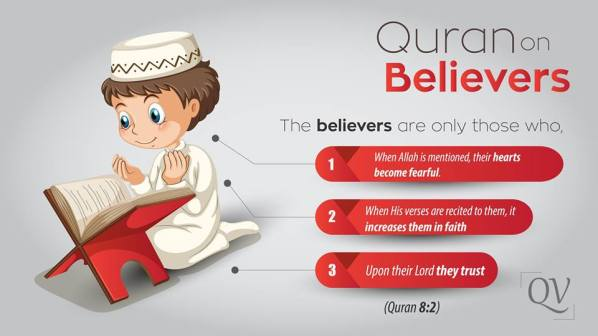 Quran on Believers
