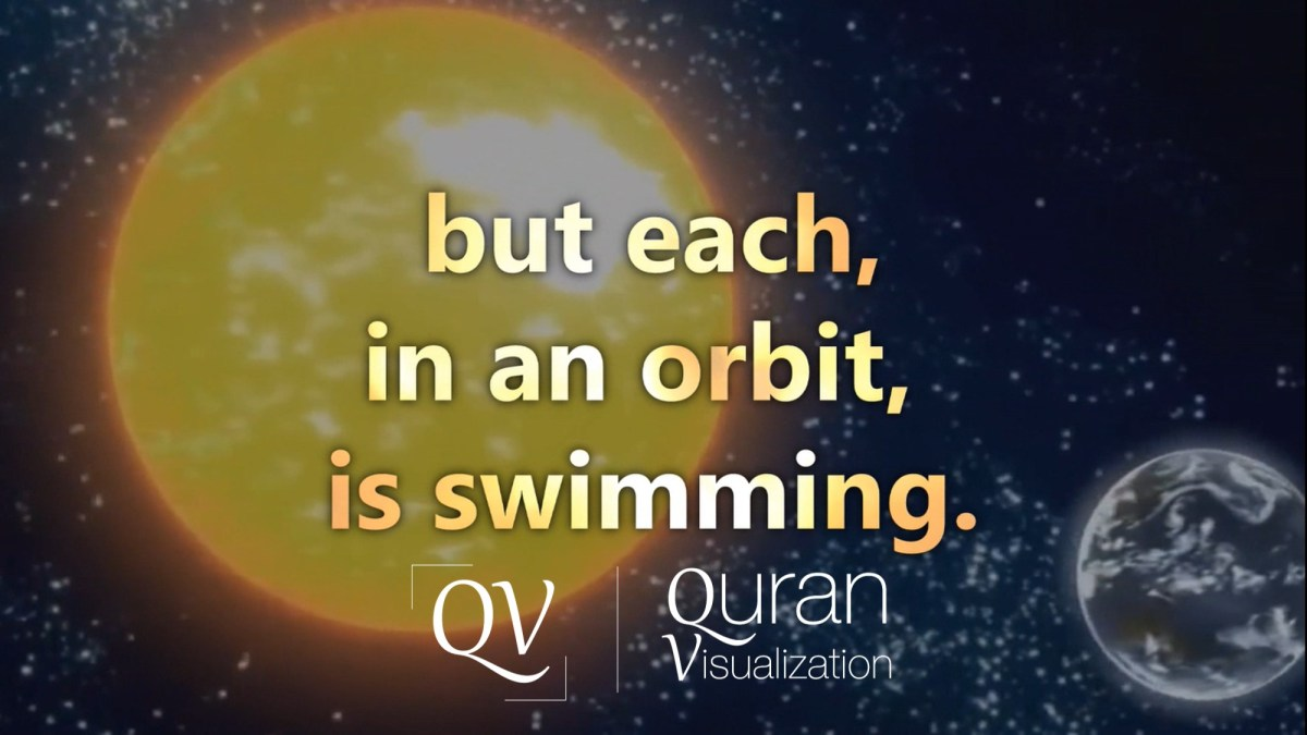 Surah Yasin | Verse 33-44 | Quran Visualization