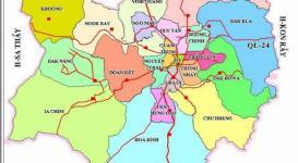 Bản đồ thành phố Kon Tum