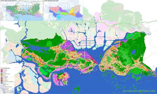 Quy hoạch định hướng phát triển thành phố Hạ Long