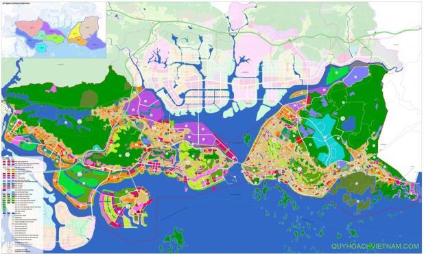 Quy hoạch sử dụng đất thành phố Hạ Long