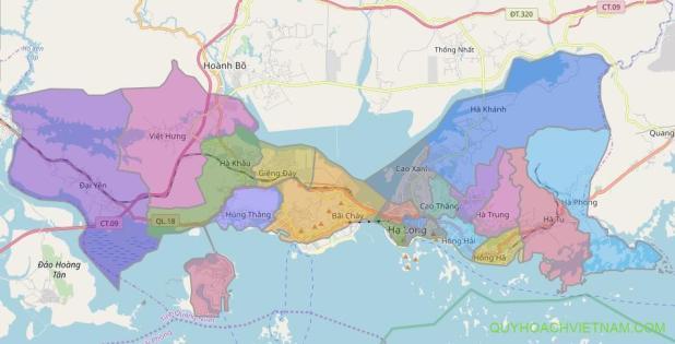 quy hoạch thành phố Hạ Long