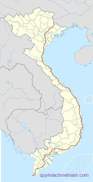 Bản đồ quốc lộ 1A