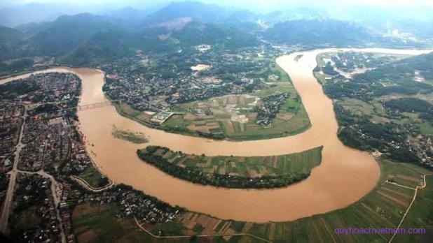 Bản đồ sông ngòi tại Việt Nam