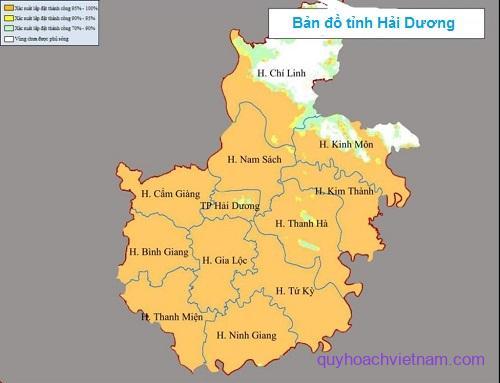 Bản đồ thành phố Hải Dương