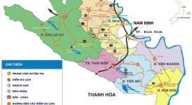 Bản đồ thành phố Ninh Bình năm 2020