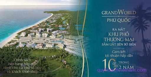 Bán dự án Condotel Grand World Phú Quốc