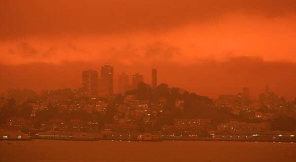 Megaincendios en la costa oeste de Estados Unidos: una realidad apocalíptica
